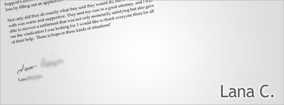 Lana C's letter